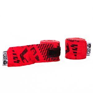 bandes de maintien pro v4 imprimée rouge 250 / 350 / 450cm