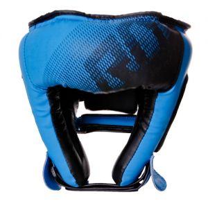 Casque boxe adulte V5 FADE Bleu à lacet RD boxing