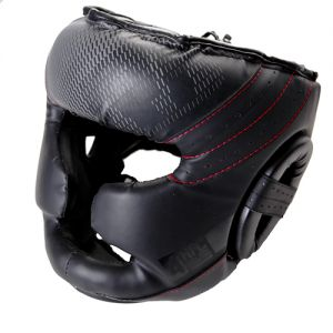 Casque intégral pro sparring ADULTE V5 FADE RD BOXING