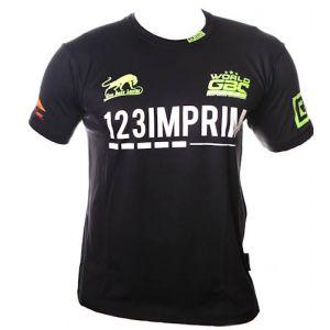 EVENT WEAR : T-shirt respirant WGBC #11 vert fluo Ltd