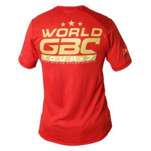 EVENT WEAR : T-shirt respirant WGBC rouge Ltd
