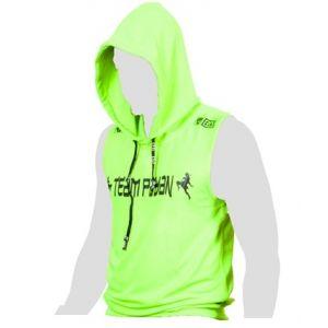 FIGHTER WEAR : t-shirt sans Manche à capuche sérigraphie Pro Model LTD
