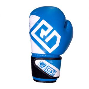 Gants de boxe ANGLAISE AMATEUR Rumble V5 bleu RD boxing
