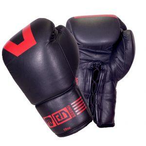 gants de boxe combat KLIMAX noir/rouge v5 RD boxing