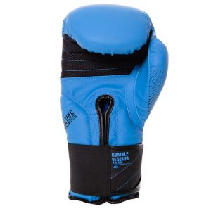 Gants de boxe Rumble V5 FADE bleu-noir RD boxing