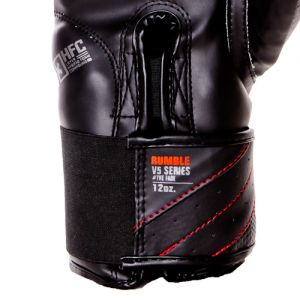 gants de boxe rumble v5 FADE gris-noir RD boxing