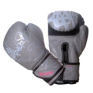 Gants de boxe Rumble V5 TAG gris/pink RD boxing