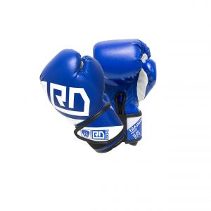 Gants de boxe training v4 junior bleu RD boxing