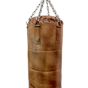 heavy leather punching bag