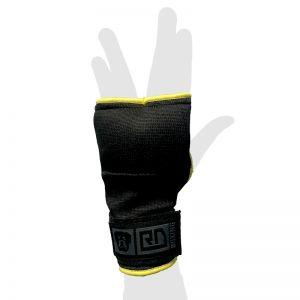 mitaines sous gants Gel v5 noir/jaune
