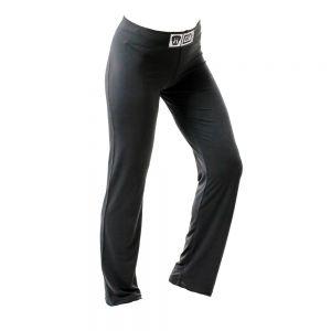 Pantalon Femme de Savate Boxe Française Uni Noir