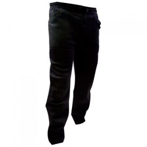 pantalon survet molleton unisex noir