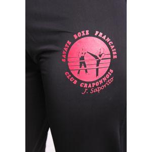 PERSO CLUB : pantalon savate féminin sérigraphie