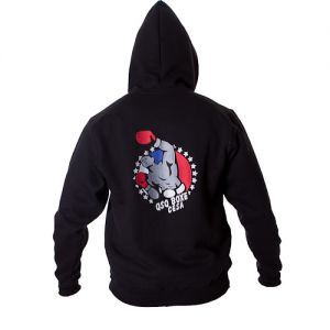 PERSO CLUB : veste zippée à capuche