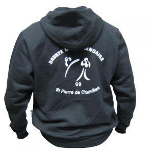 PERSO CLUB :veste zippée à capuche
