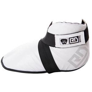 protège pied full contact pu v4 blanc