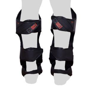 Protege Tibia/pieds K1 / Muay Thaï HD V5 FADE GRIS/NOIR