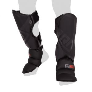 Protege Tibia/pieds K1 / Muay Thaï HD V5 NOIR