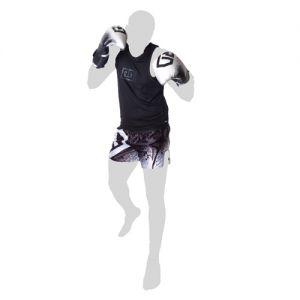Short thai noir/blanc stencil v5 rd boxing