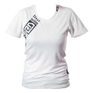 t shirt technique respirant  Féminin Blanc RD BOXING V4