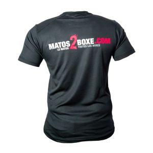 t shirt technique respirant unisex noir