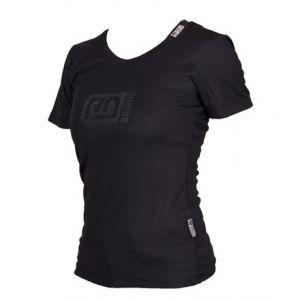 Women breathable tech t shirt Black RD BOXING V4